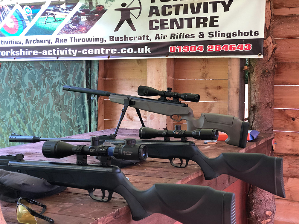 Air Rifle Shooting, York, Leeds, Harrogate | Yorkshire Activity